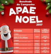 Resultado APAE Noel 2017!
