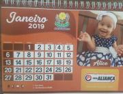 Calendário APAEANO 2.019