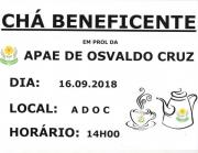 Chá Beneficente 2018